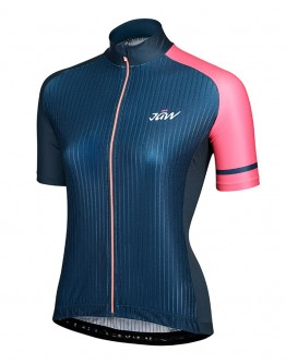 Women's  Cycling Jersey URBAN Blue