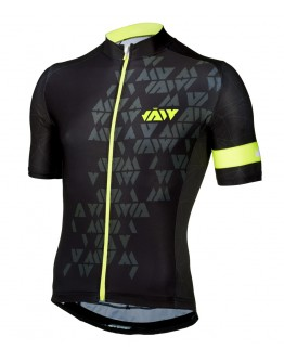 Men's Cycling Jersey CRYSTAL Neon Yellow