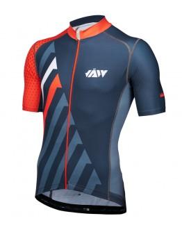 Men's Cycling Jersey SPRINT Black Orange