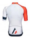 Men's  Cycling Jersey SPRINT White Orange