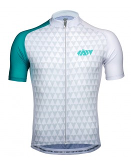 Men's Cycling Jersey VECTOR Lake Blue