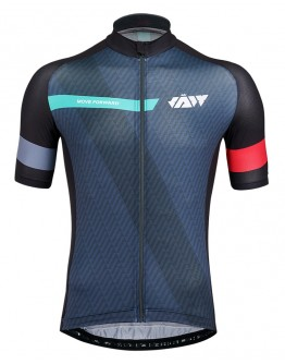 Men's Cycling Jersey MOVE FORWARD Black