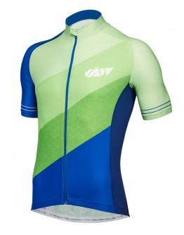 Men's Cycling Jersey DIAGONAL Mountain Green