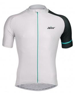 Men's Cycling Jersey URBAN White