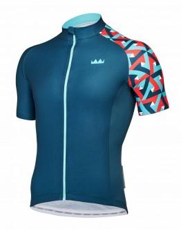 Men's Cycling Jersey JOUER VELO Blackish Green