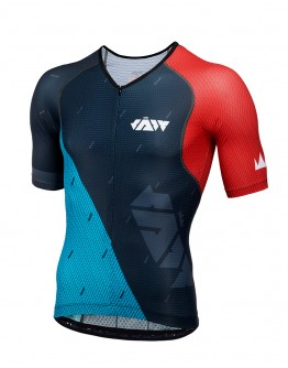 Men's Tri Top JAW TEAM Black Green Red