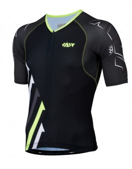 Men's Tri Top SPRINT Neon Green