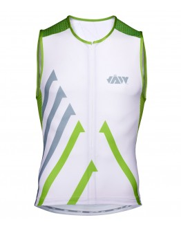Men's Tri Singlet SPRINT WHITE