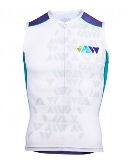 Men's Tri Singlet CRYSTAL