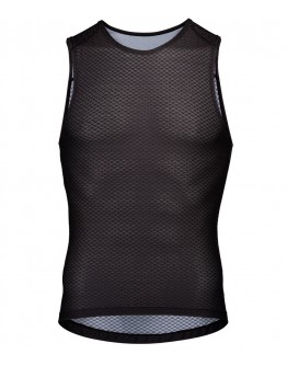 Men's Cycling Base Layer CHEKCED Black