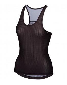 Women's Cycling Base Layer CHEKCED Black