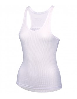 Women's Cycling Base Layer JAW White