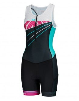 Youth Tri Suit RADIANT Turquoise