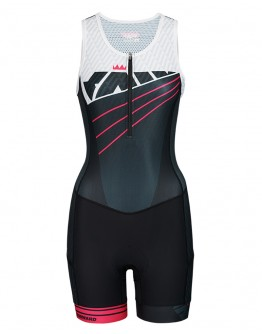Youth Tri Suit RADIANT Neon Pink
