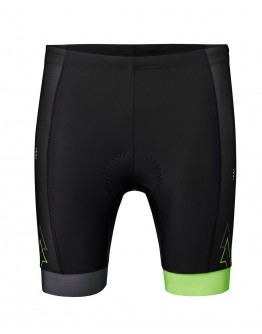 Men's Tri Shorts SPRINT Black Neon Green