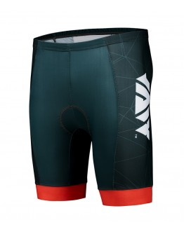 Men's Tri Shorts CRYSTAL Black Red