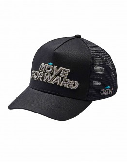 JAW MOVE FORWARD Baseball Cap Black