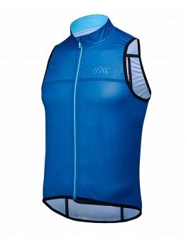 Wind/Water Resistant Cycling Vest JOUER VELO Ocean Blue Unisex