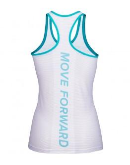 Women's Running Singlet CRYSTAL Lake Blue