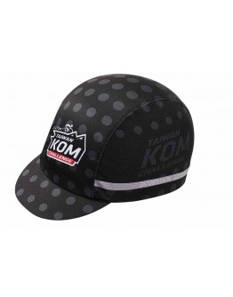 JAW X TAIWAN KOM CHALLENGE Cycling Cap Special Black