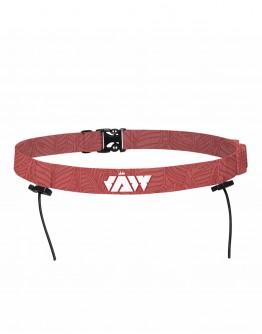 JAW Triathlon Race Belt -Red 75cm