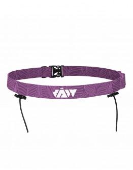 JAW Triathlon Race Belt -Purple 75cm