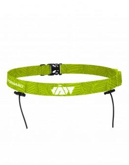 JAW Triathlon Race Belt -Apple Green 65cm