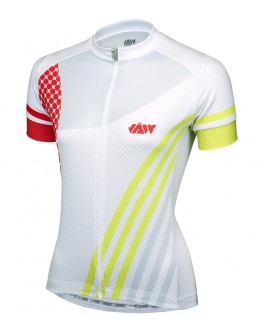 Women's Cycling Jersey GALLOP White