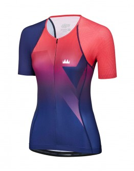Women's Tri Top CIRCUIT Coral