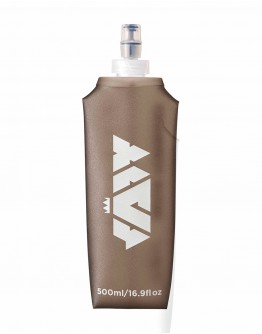 JAW Sports Soft Flask 500ml Gray
