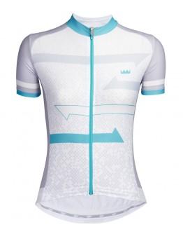 Women's Cycling Jersey HORIZON Lake Blue