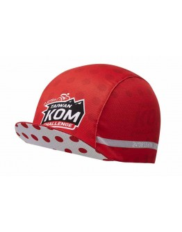 JAW X TAIWAN KOM CHALLENGE  Cycling Cap Special Red