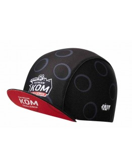 JAW X TAIWAN KOM CHALLENGE Cycling Cap Challenge Black