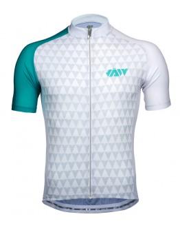 Men's Cycling Jersey VECTOR Lake Blue