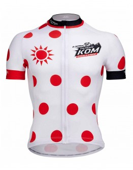 Men's Cycling Jersey JAW X TAIWAN KOM CHALLENGE- KING Red