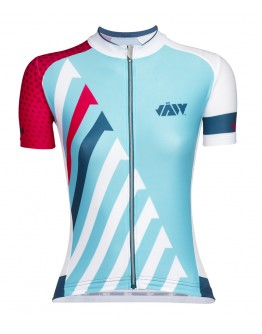 Women's Cycling Jersey SPRINT Ocean Blue