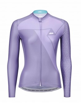 Women's Cycling Jersey PRIME Violet