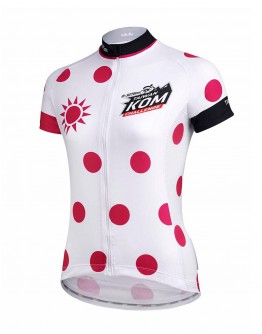 Women's  Cycling Jersey JAW X TAIWAN KOM CHALLENGE - QUEEN Rose Violet