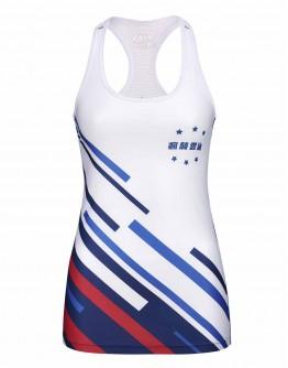 Women's Running Singlet JAW x GEG New Classic Style