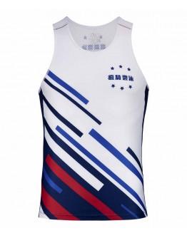 Men's Running Singlet JAW x GEG New Classic Style