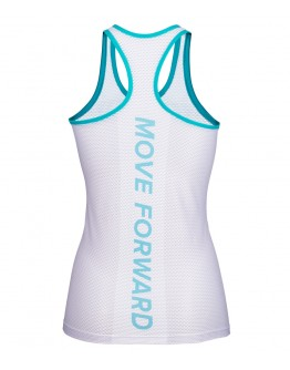 Women's Running Singlet CRYSTAL Lake Blue