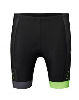 Men's Tri Shorts SPRINT Black Neon Green