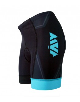 Women's Tri Shorts BIG J Turquoise