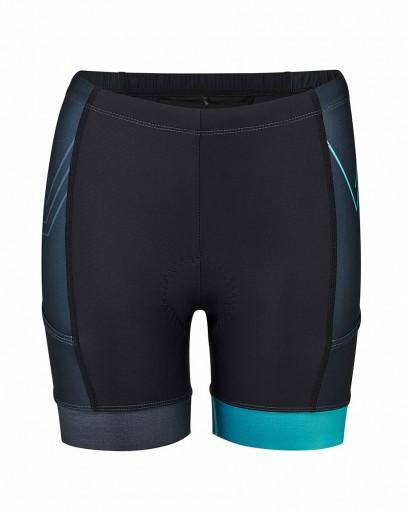 Women's Tri Shorts CIRCUIT Peacock Blue