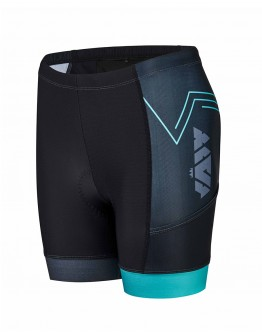 Women's Tri Shorts CIRCUIT Peacock Blue