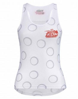 Women's Cycling Base Layer JAW X TAIWAN KOM CHALLENGE Red White
