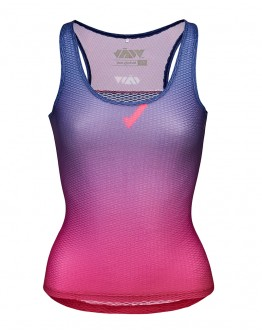 Women's Cycling Base Layer JAW Reddish Blue